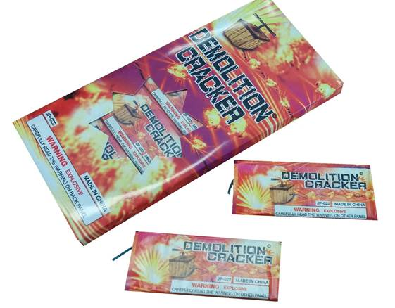 DEMOLITION CRACKERS
