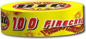 BIG Firecrackers 100 Roll