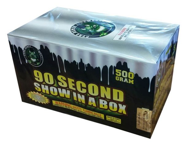 90 SECOND SHOW IN A BOX