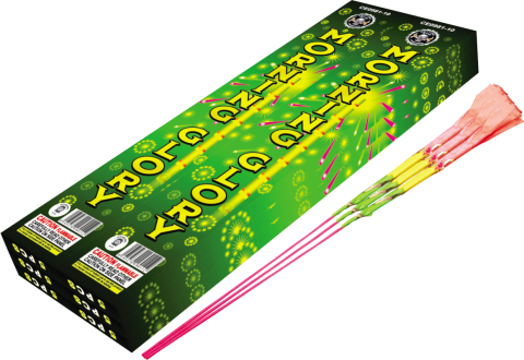 10 INCH MORNING GLORY SPARKLERS